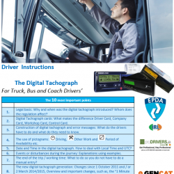 Driver Instruction - Digital Tachograph