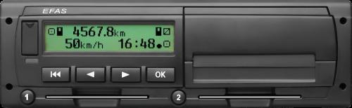 EFAS 4S digital tachograph
