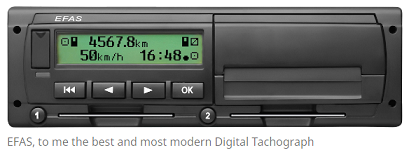 Digital Tachograph – EFAS 4SE