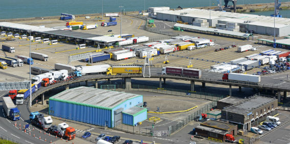 UK Ferry Port