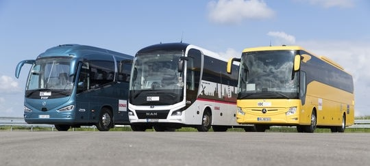 Winners of the International Bus and Coach Competition 2018