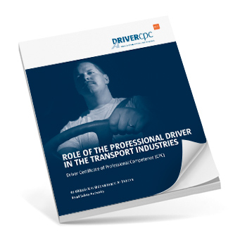 M4 Role of the professional driver in the transport industries