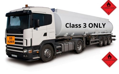 Class 3 Fuel Only