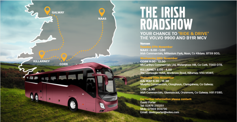 Volvo-Ireland Road Show Ride & Drive