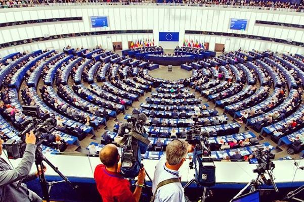 camera european parliament strasbourg