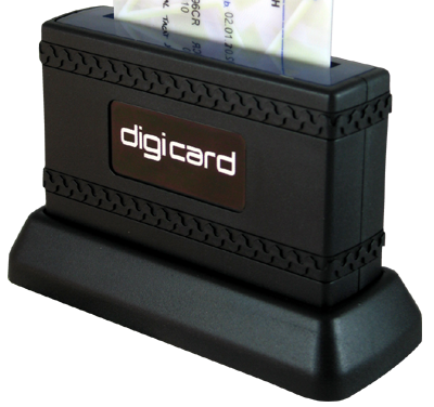 digiCard - Digital Driver Card Reader