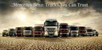 Mercedes Benz Trucks model, Heavy duty mercedes