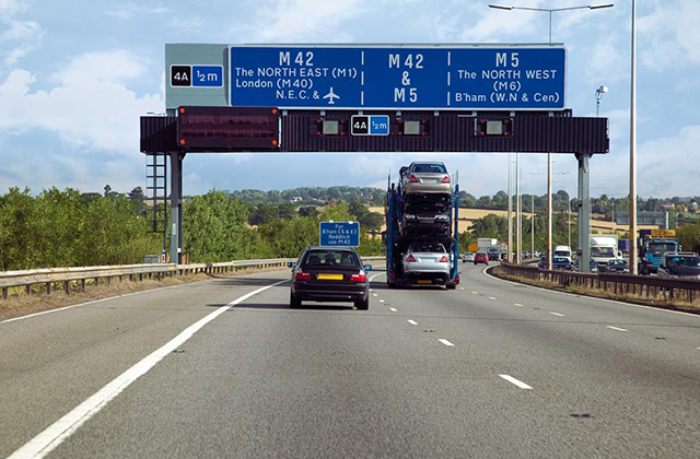 Learner drivers on motorways