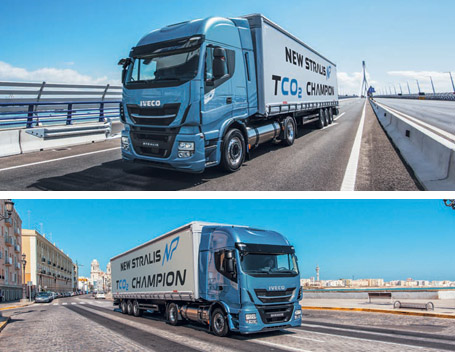 New STRALIS NP gas truck - IVECO
