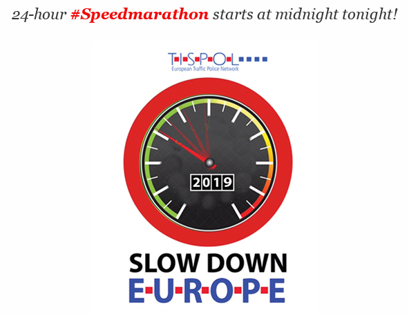 24-hour #Speedmarathon starts at midnight tonight!