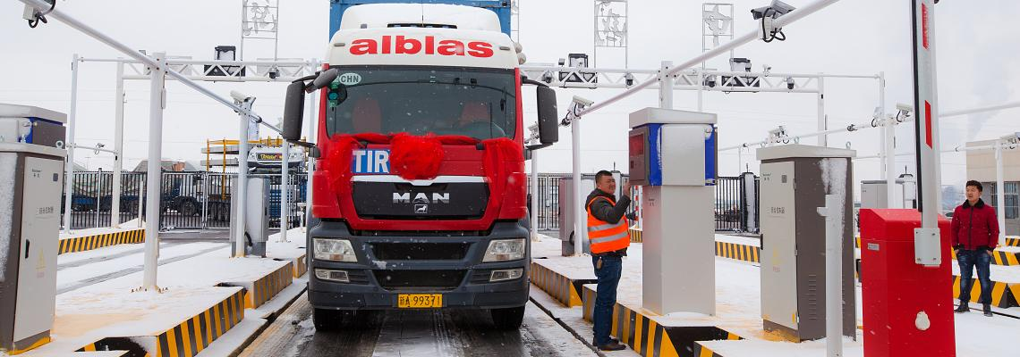First TIR truck trip between China and Europe