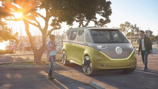 the Kombi autonomous electric minibus